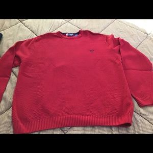 Chaps Sweaters - Chaps bright red men's sweater size xl. NWOT